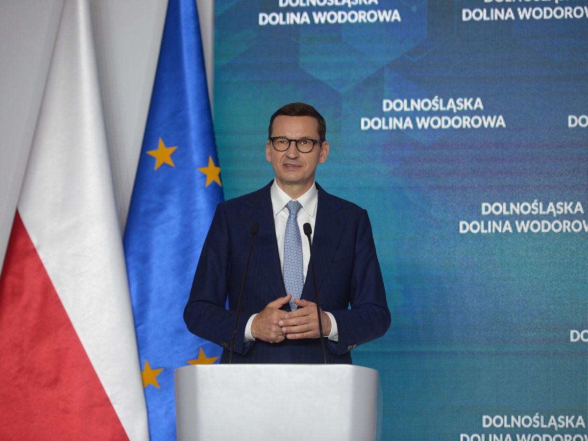 Foto: Mateusz Morawiecki, primer ministro polaco. (EFE)