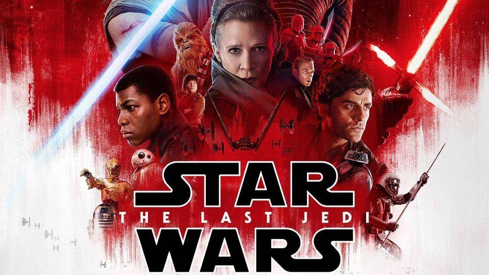Foto:  Cartel oficial de 'Star Wars: Los últimos Jedi'
