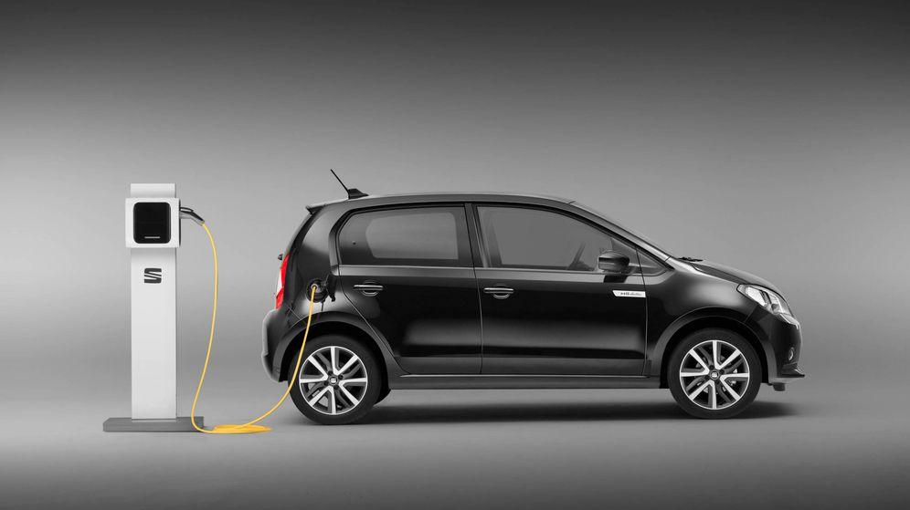 Foto: El Mii electric será el primer coche de producción de Seat movido solo por electricidad.