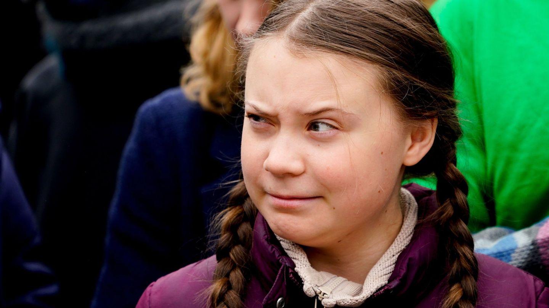 La activista sueca Greta Thunberg. (EFE)