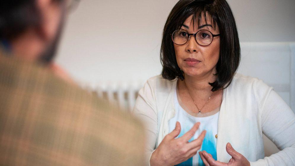 Foto: Patricia Díaz Guillén, en un momento de la entrevista con El Confidencial. (Carmen Castellón)