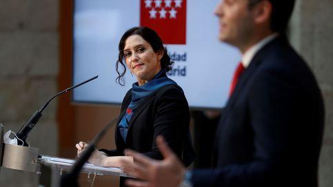 Ayuso y Aguado superan el primer escollo para amarrar la legislatura a la espera de Vox