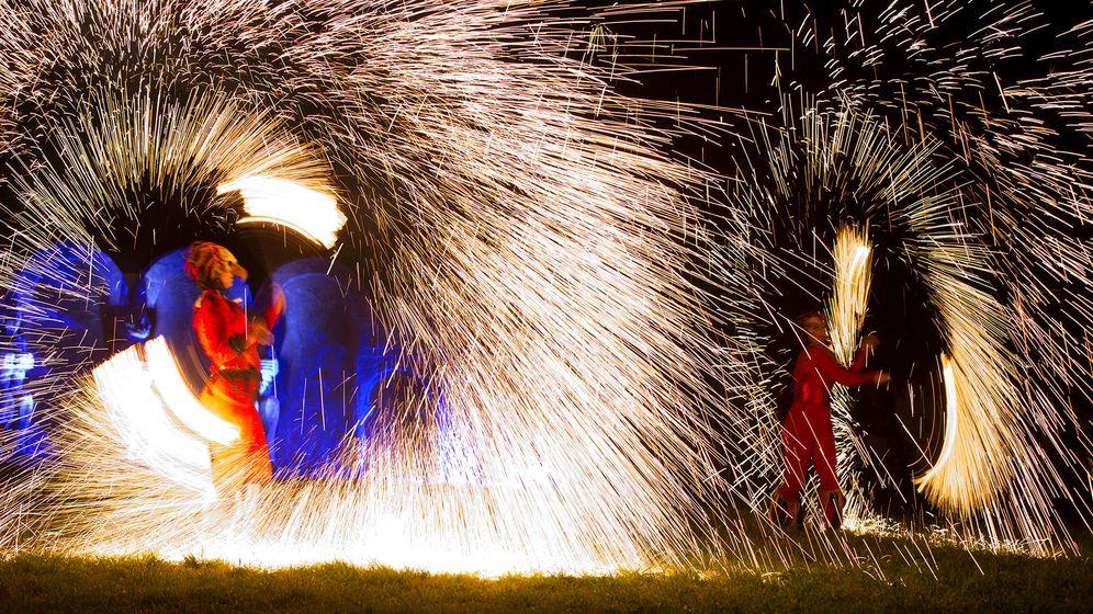 Foto: Una noche en DrachenFest. (Flickr)