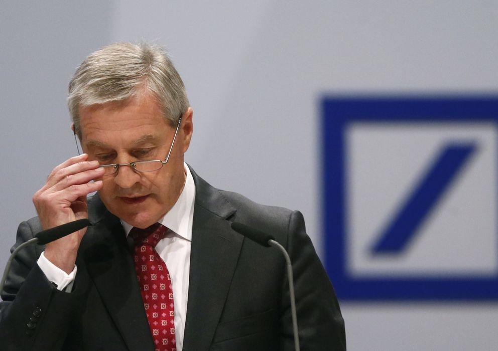 Foto: El copresidente del Deutsche Bank Jürgen Fitschen. (Reuters)