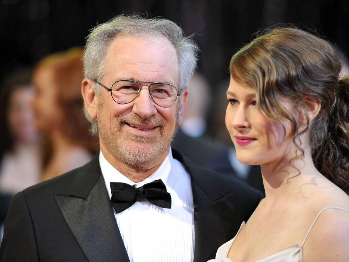 Foto: Steven Spielberg, junto a su hija Sasha. (Getty)