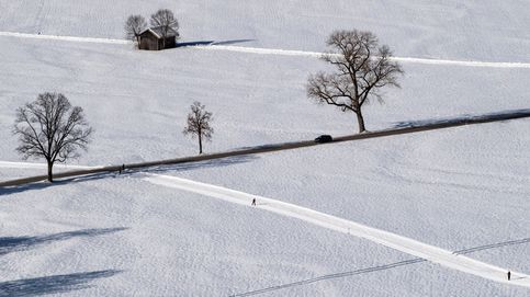 Nieve en el sur de Alemania