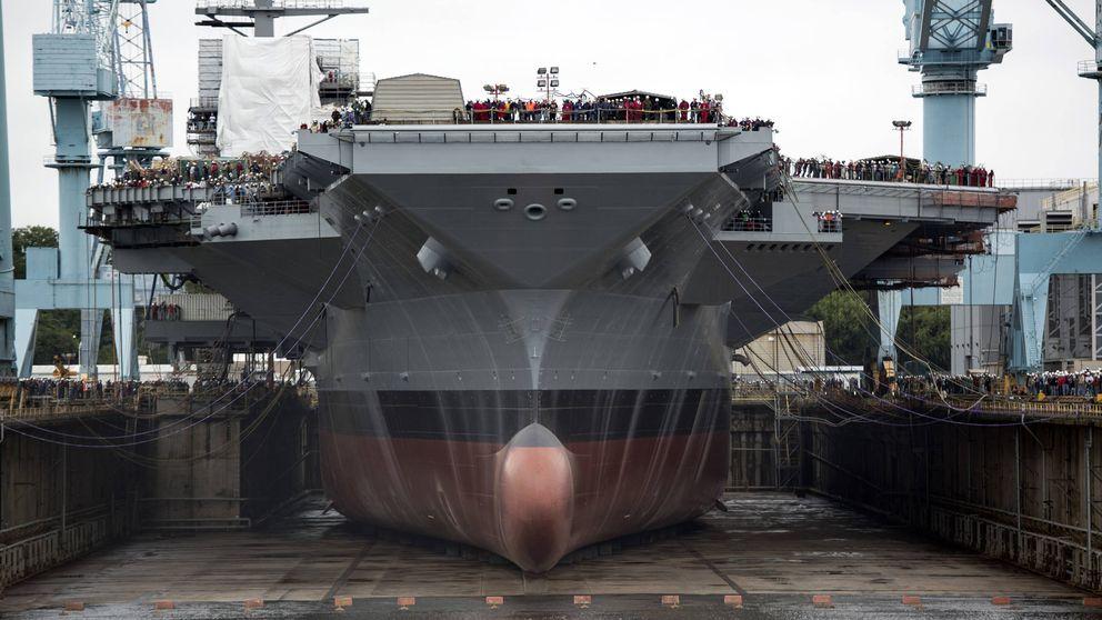 Los problemas del portaaviones más caro del mundo