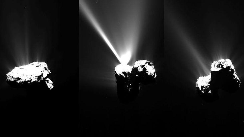Rosetta descubre por qué su cometa está fracturado