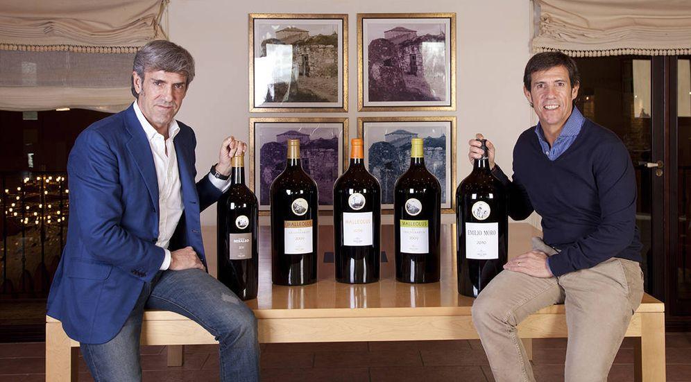 Foto: José (d) y Javier Moro, actuales propietarios de Bodegas Emilio Moro. (Emilio Moro)