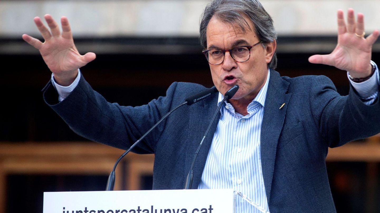 Artur Mas, en un acto de JxCAT. (EFE)
