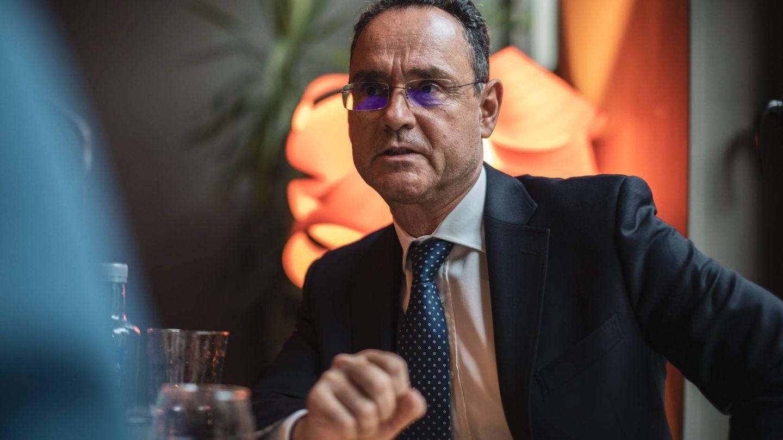 Pedro Baños, en un momento de la entrevista. (J. Álvaro Manzano)