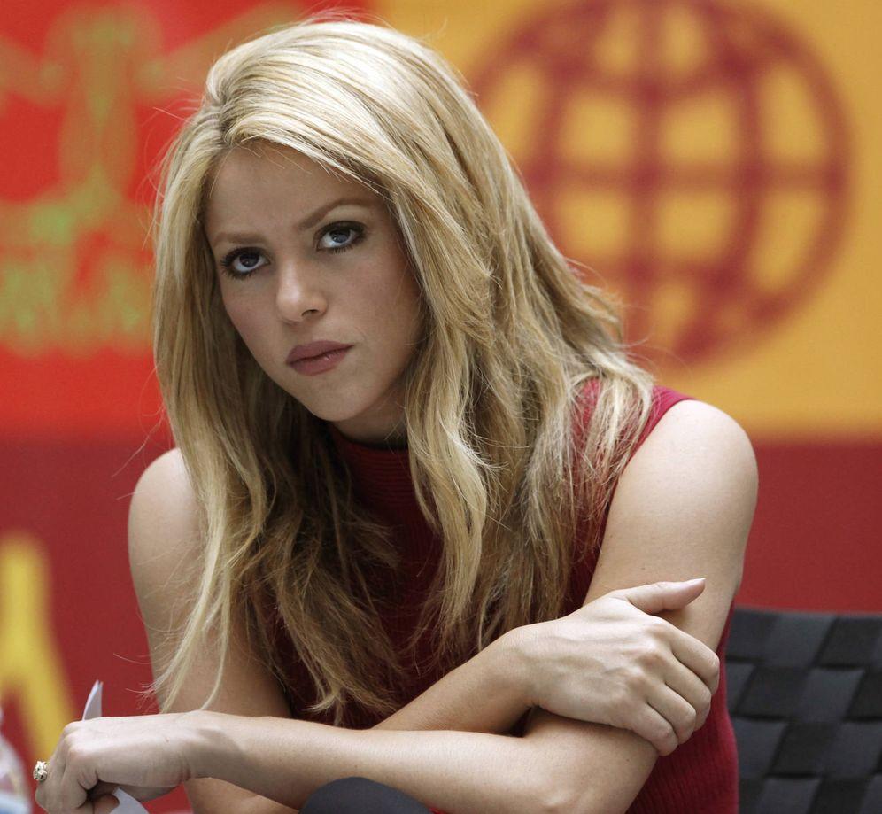 Foto: Shakira en un evento del World Bank, en Washington. (Gtres)