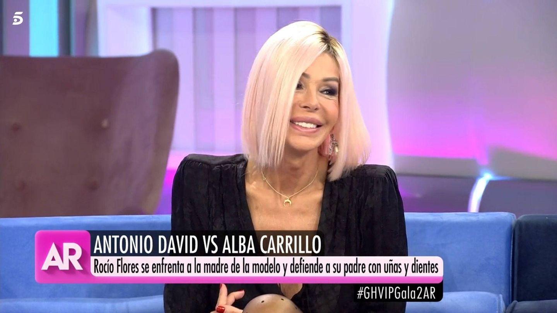 Bibiana Fernández, en 'El programa de AR'. (Telecinco)