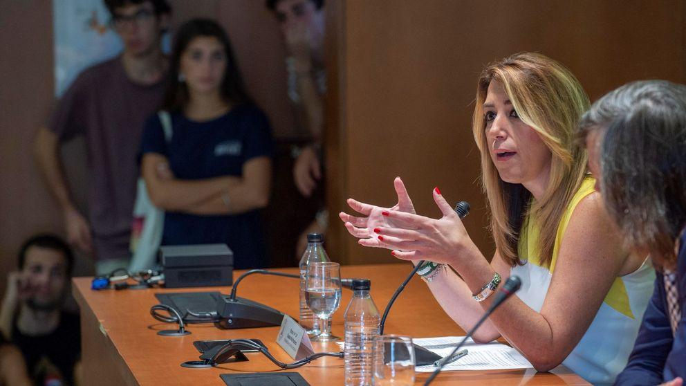 La propaganda desata la última guerra de Susana Díaz con la oposición