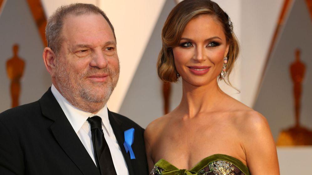 Foto: Harvey Weinstein y Georgina Chapman. (Reuters)