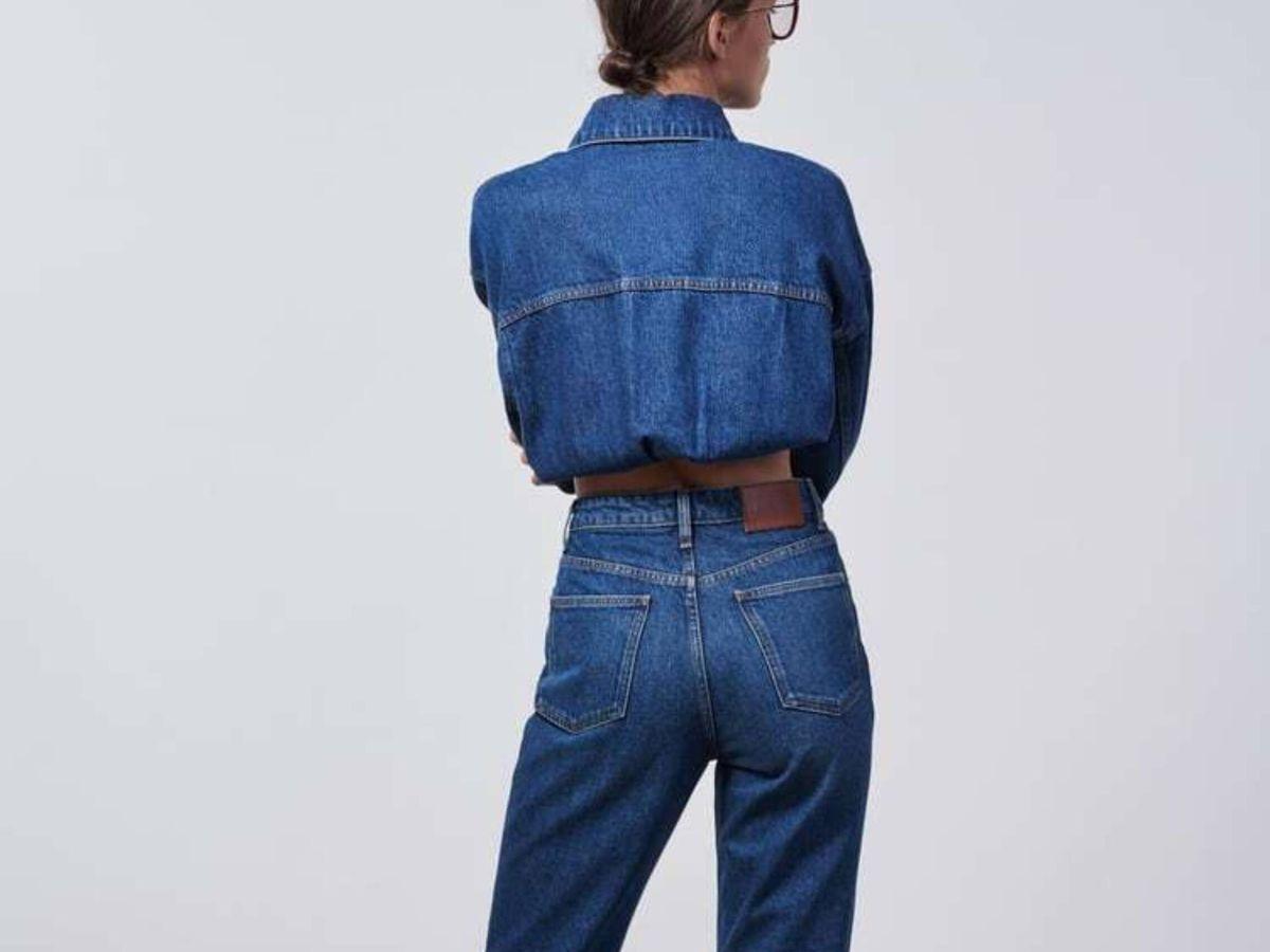 Foto: El nuevo pantalón vaquero de Zara. (Cortesía)