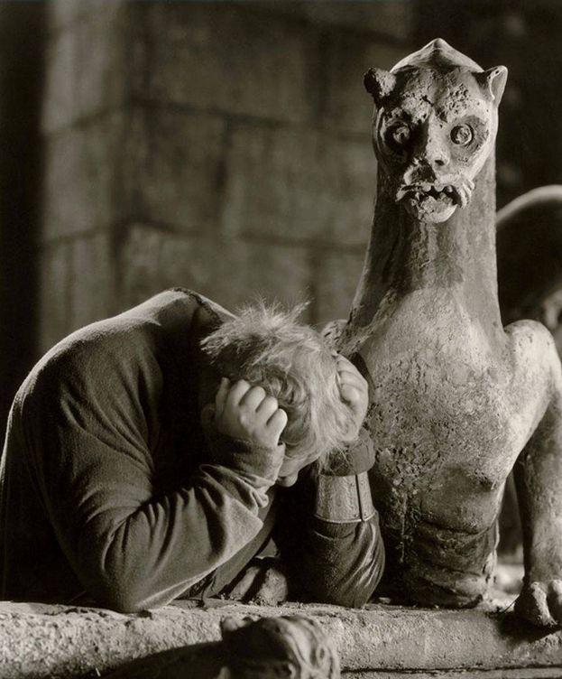 Foto: Charles Laughton, en 'El jorobado de Notre-Dame'.