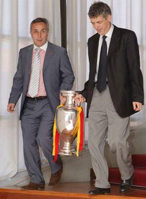 "Villar: ""le deseo mucha suerte a Luis"""