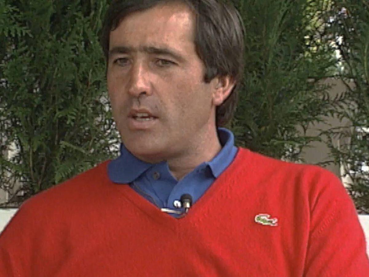 Foto: Severiano Ballesteros, en una imagen del documental. (Amazon)