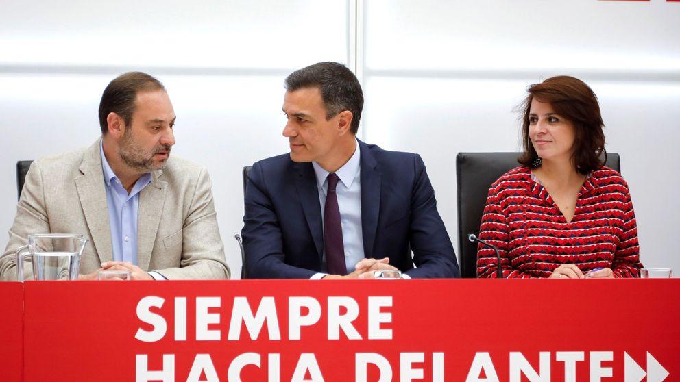 El PSOE pide a Cs y PP abstención en la investidura para que no dependa de ERC