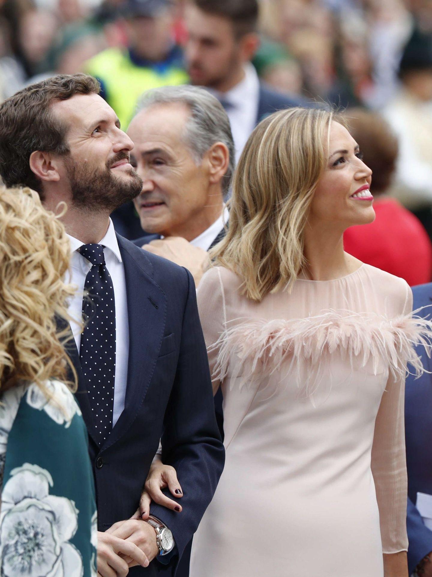 Isabel Torres, a su llegada a la entrega de los Premios Princesa de Asturias. (EFE)