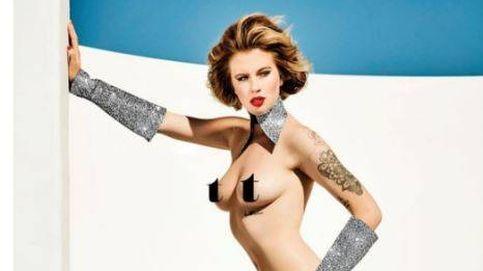 La hija  de Alec Baldwin y Kim Basinger posa desnuda