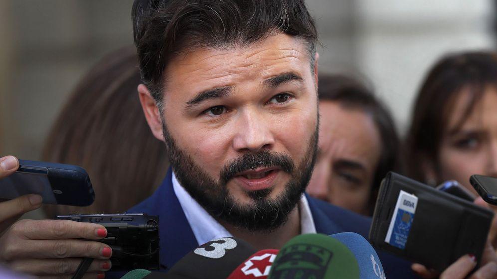 Foto: gabriel Rufián en el Congreso de los Diputados. (EFE)