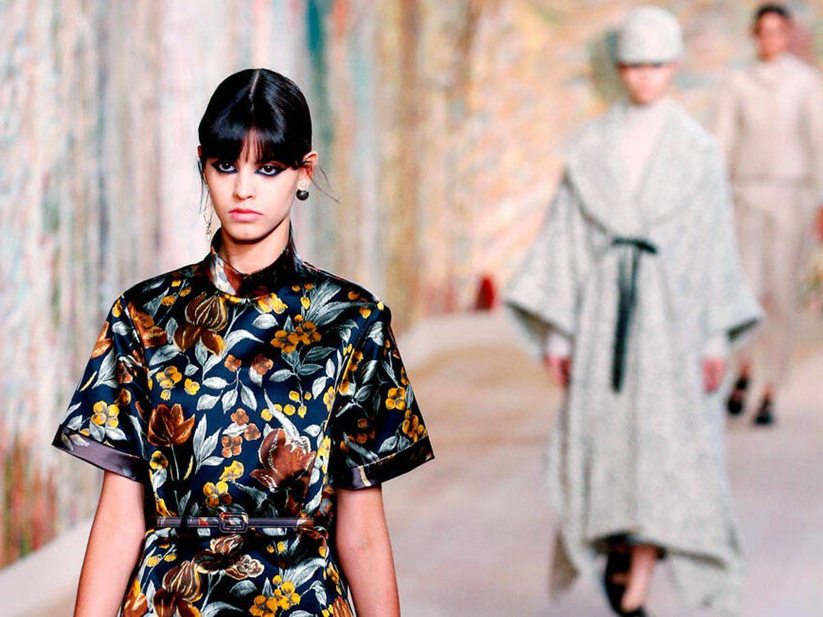 Foto: Desfile de Dior en la Semana de la Alta Costura de París. (Getty)