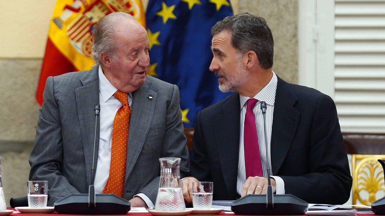 Los reyes Juan Carlos y Felipe en una imagen de archivo. (EFE)