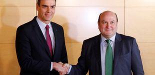 Post de Ortuzar advierte a Sánchez por su pacto con EH Bildu: