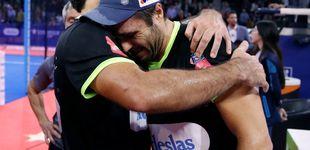 Post de Lágrimas de alegría para cerrar por todo lo alto la temporada del World Padel Tour