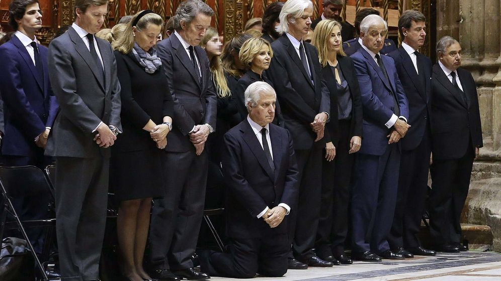 Foto: Funeral por la duquesa de Alba. (EFE)