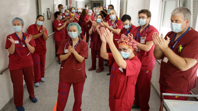 Personal sanitario del Hospital Universitario de Canarias. (EFE)