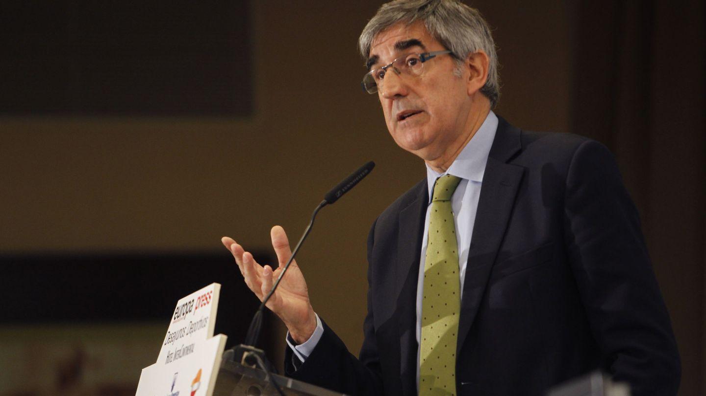 Jordi Bertomeu, presidente de la Euroliga (Diego Pérez/EFE)