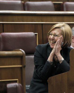 Foto: PP y PSOE aíslan a Rosa Díez en el Congreso y votan contra la ilegalización de Bildu y Amaiur