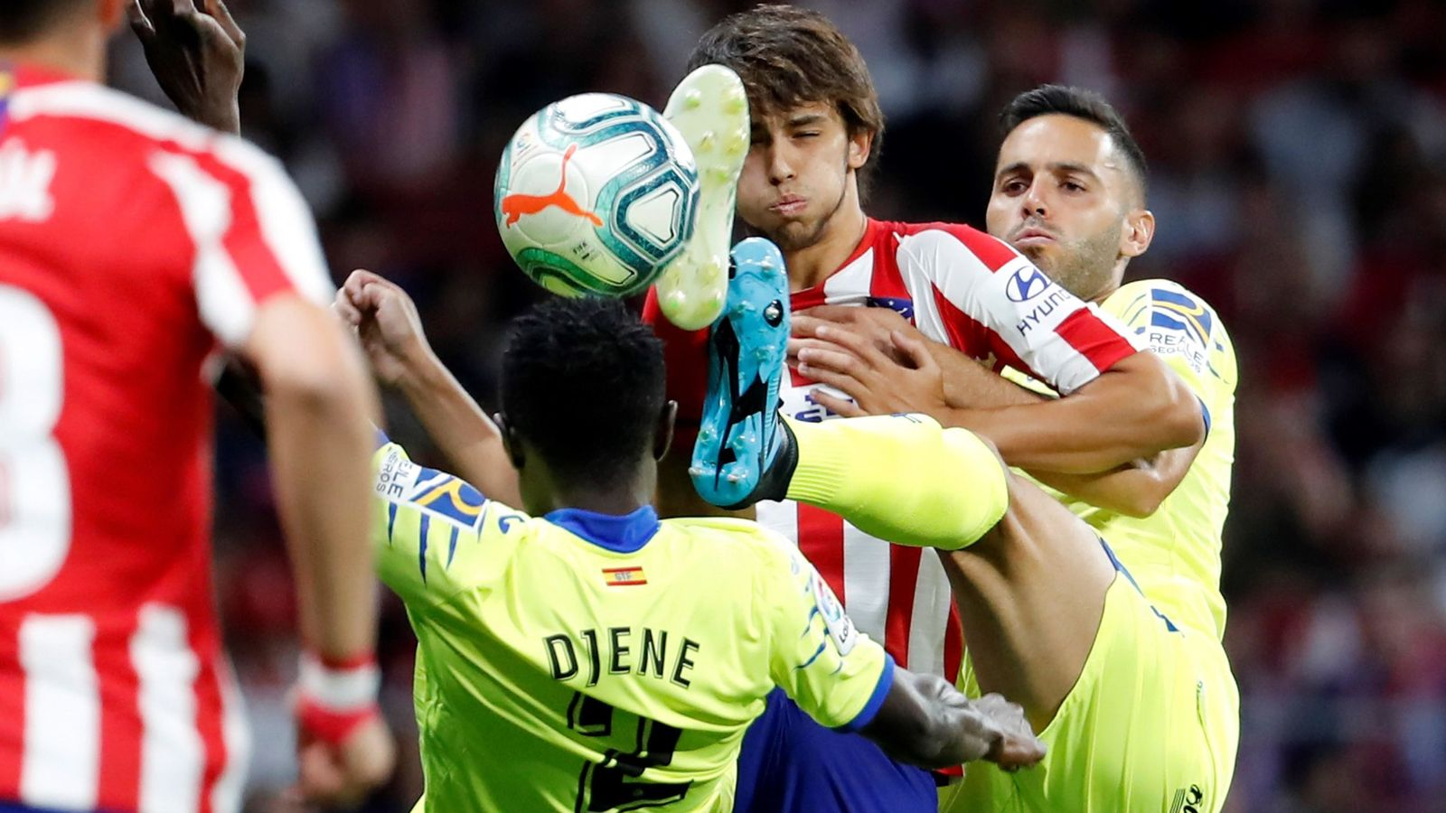 Foto: Atlético de madrid - getafe