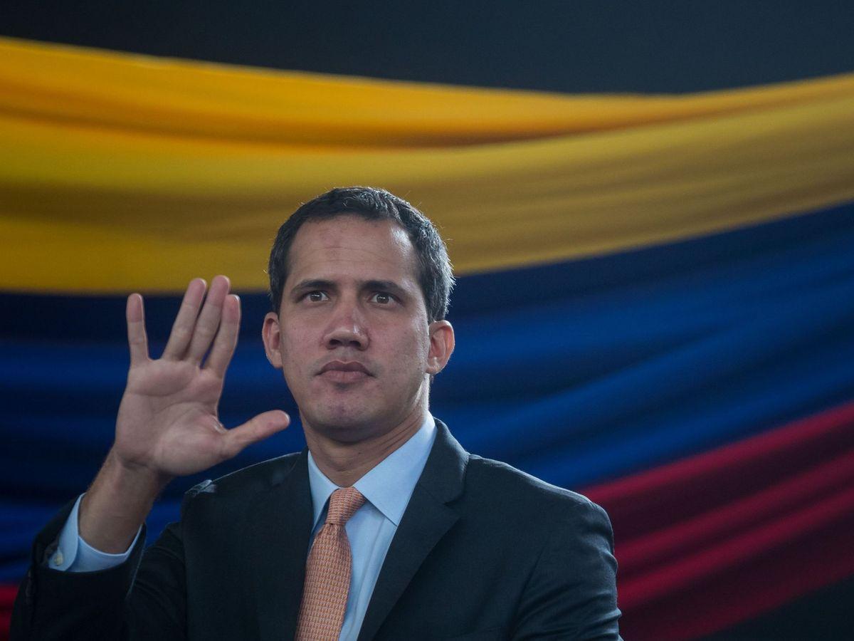 Foto: El líder opositor venezolano, Juan Guaidó. (EFE)