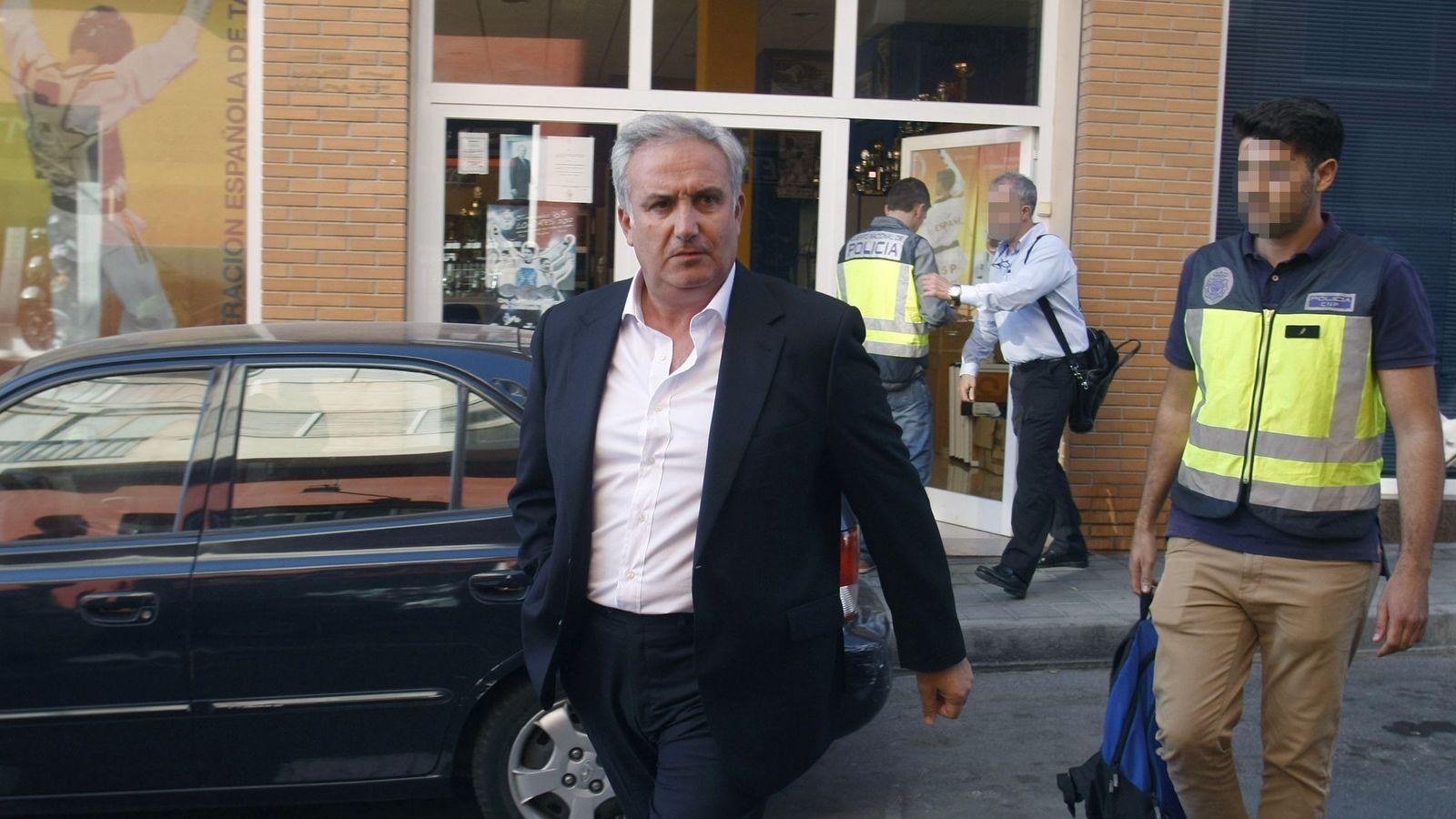 Foto: Jesús Castellanos, el día de su detención. (EFE)