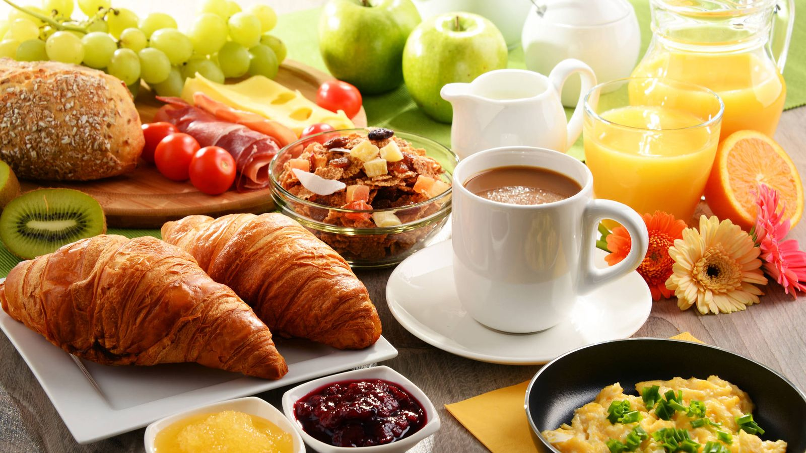 Alimentos para comer en las mañanas