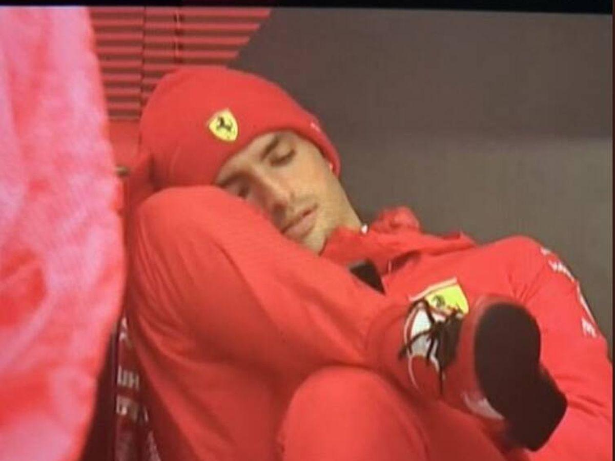 Foto: Carlos Sainz, durante el GP de Bélgica.