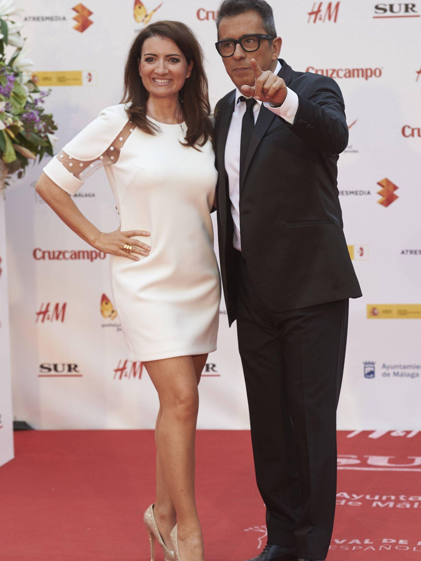 Silvia Abril y Andreu Buenafuente, en el Festival de Málaga. (Getty)
