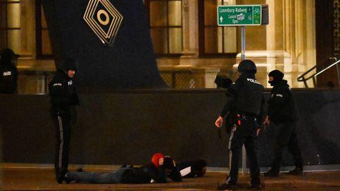 Los atentados en el centro de Viena, en imágenes