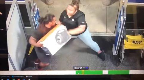 No en mi tienda: una mujer se vuelve viral por impedir un robo a toda costa