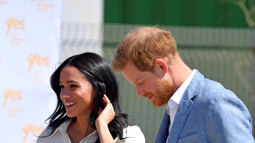 Foto: Meghan Markle y el príncipe Harry en una imagen de archivo. (Reuters)