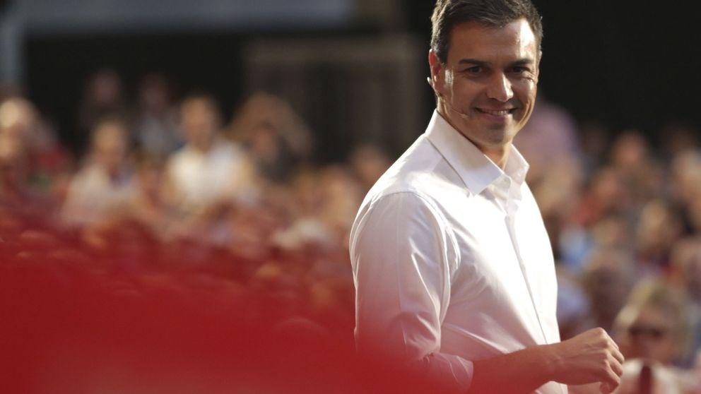 Sánchez tira de ministrables y pide no caer en el desánimo y ganar a las encuestas
