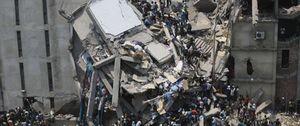 Foto: La etiqueta de Mango se 'quema' en el último incendio mortal en un taller de Bangladesh