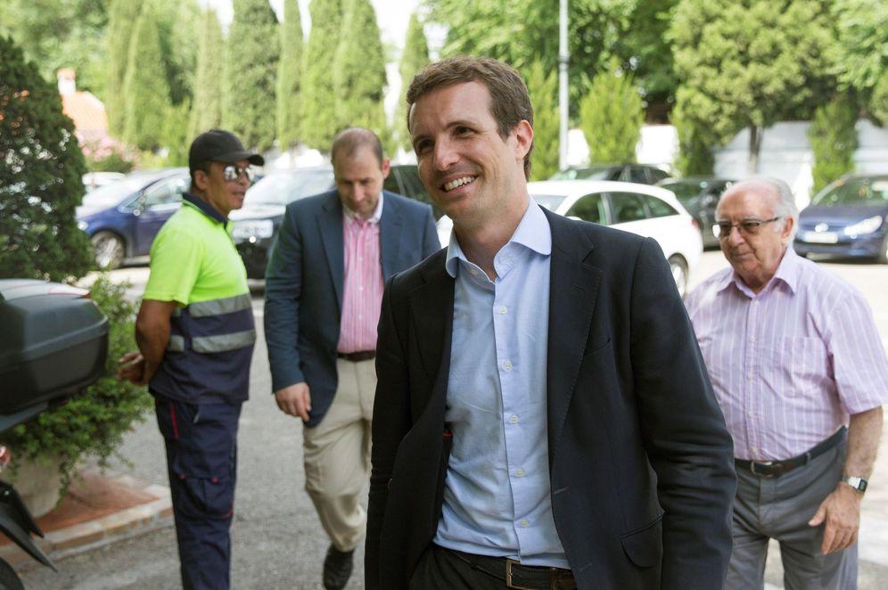 Foto: Pablo Casado. (Rodrigo Jiménez/EFE)