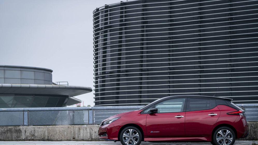 Foto: El Nissan Leaf fue el precursor de la movilidad eléctrica y por ello cero emisiones.