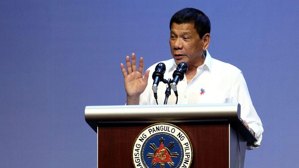 Foto: El presidente de Filipinas, Rodrigo Duterte. (Reuters)