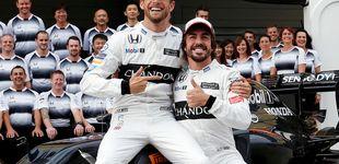 Post de Jenson Button a Fernando Alonso: